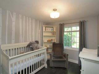 Sample bedroom photo by Paula Kennedy of Purple Door Creative